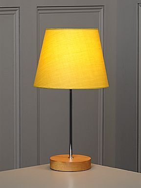 Linea Woody table lamp - chartreuse - House of Fraser £12.50 sale