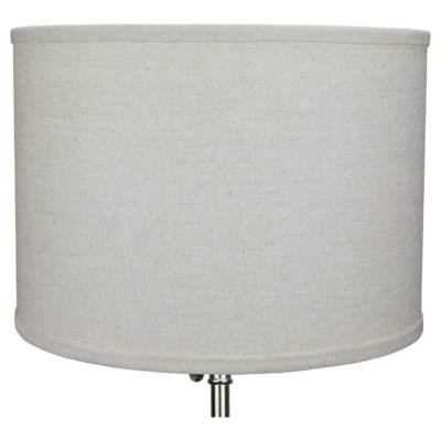 Red Barrel Studio 14 Linen Drum Lamp Shade Color Couture Natural With Images Drum Lampshade Lamp Shade Lamp