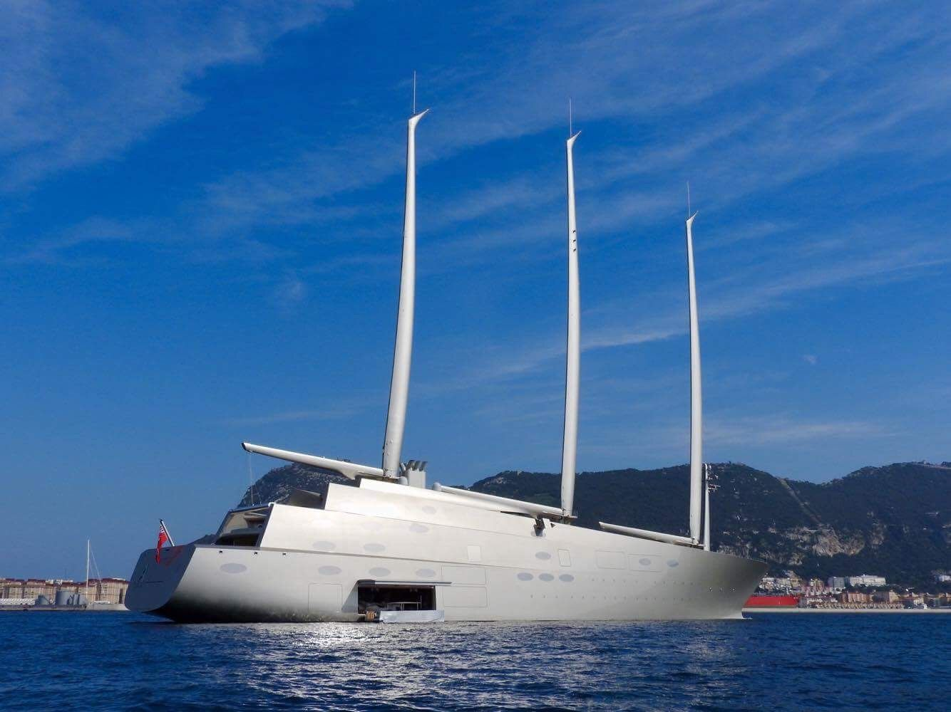 Sailing Yacht A >> Sailing Yacht A Released By Gibraltar Courts Yachts Boats