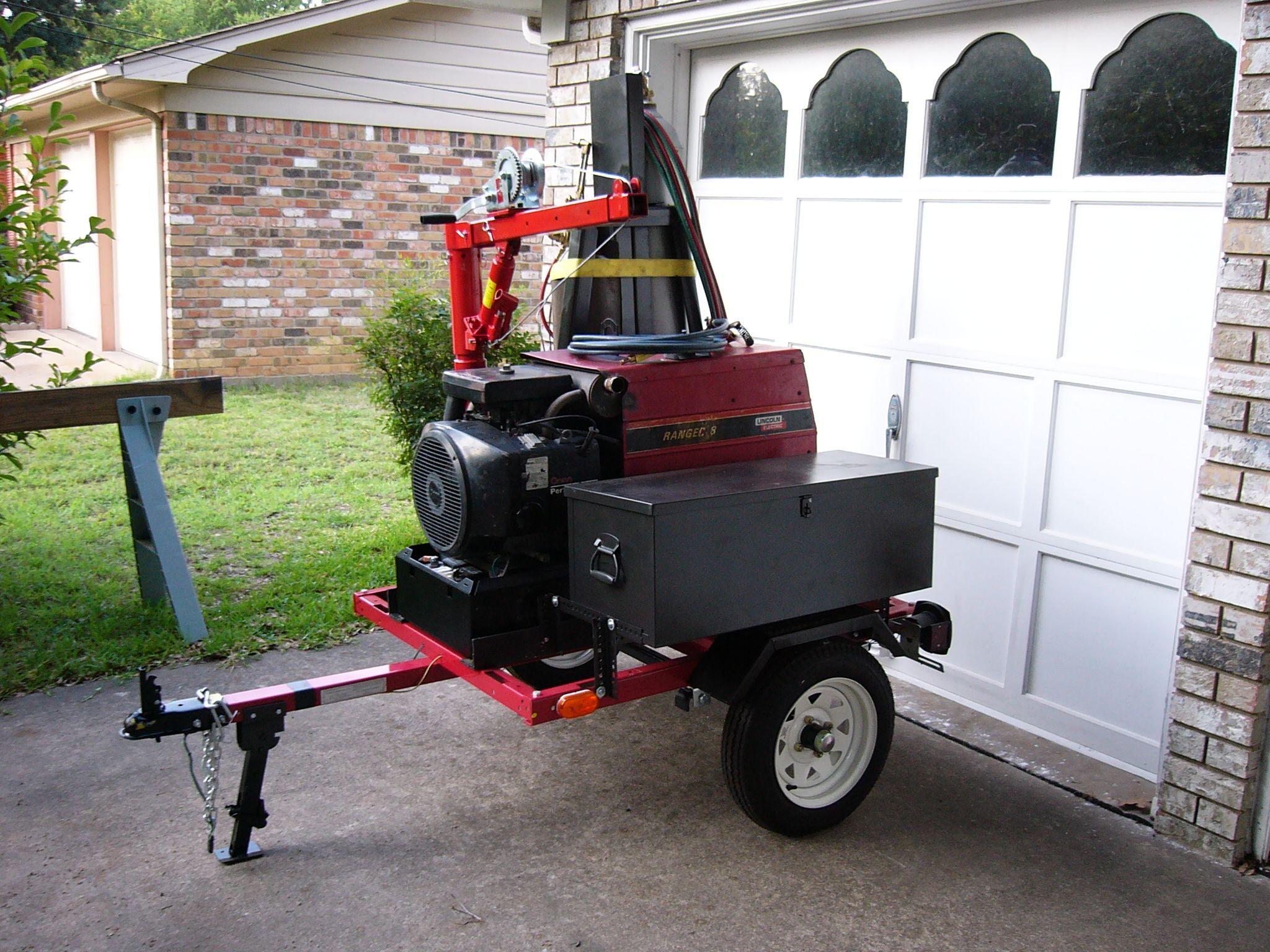 Image result for welding trailer Welding trailer