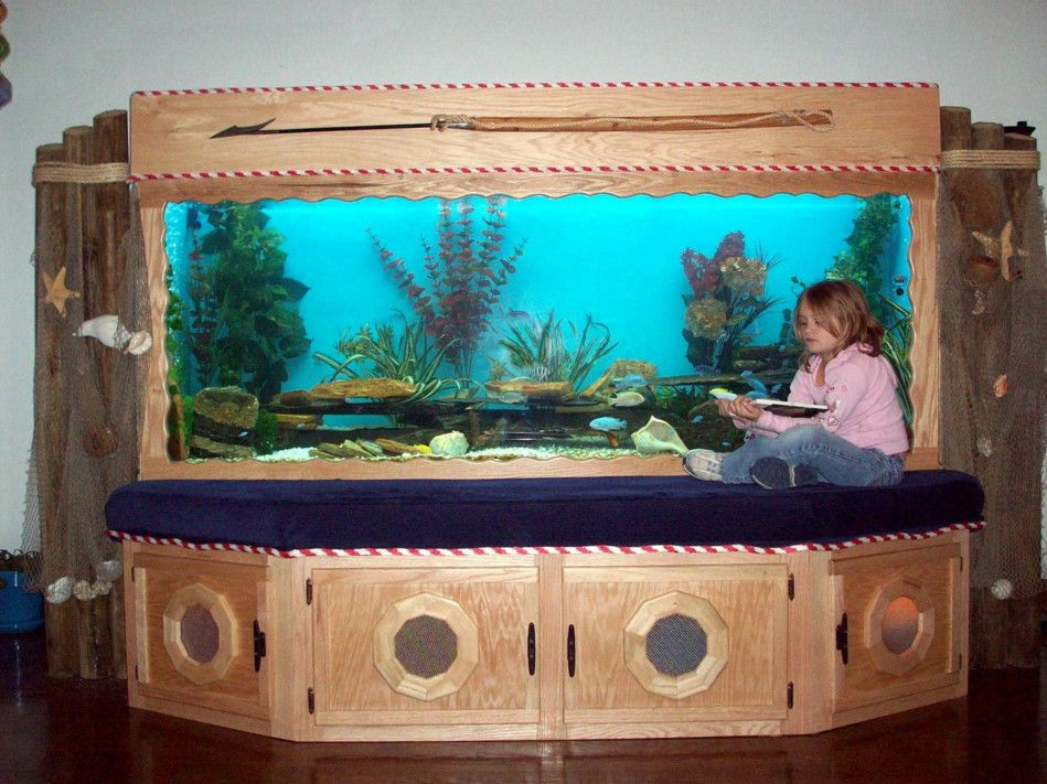 200 Gallon Plywood Aquarium Fish Tank