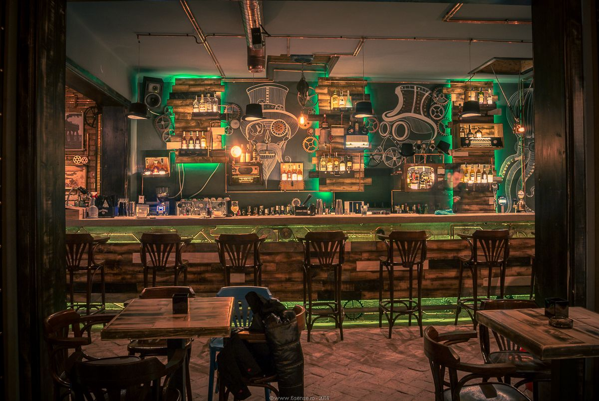 Quirky design Steampunk Joben Bistro Pub Inspired by Jules Verne's  Fictional Stories When I get to