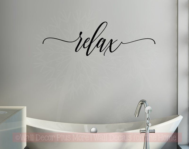 Bath Wall Decor Bathroom Decals