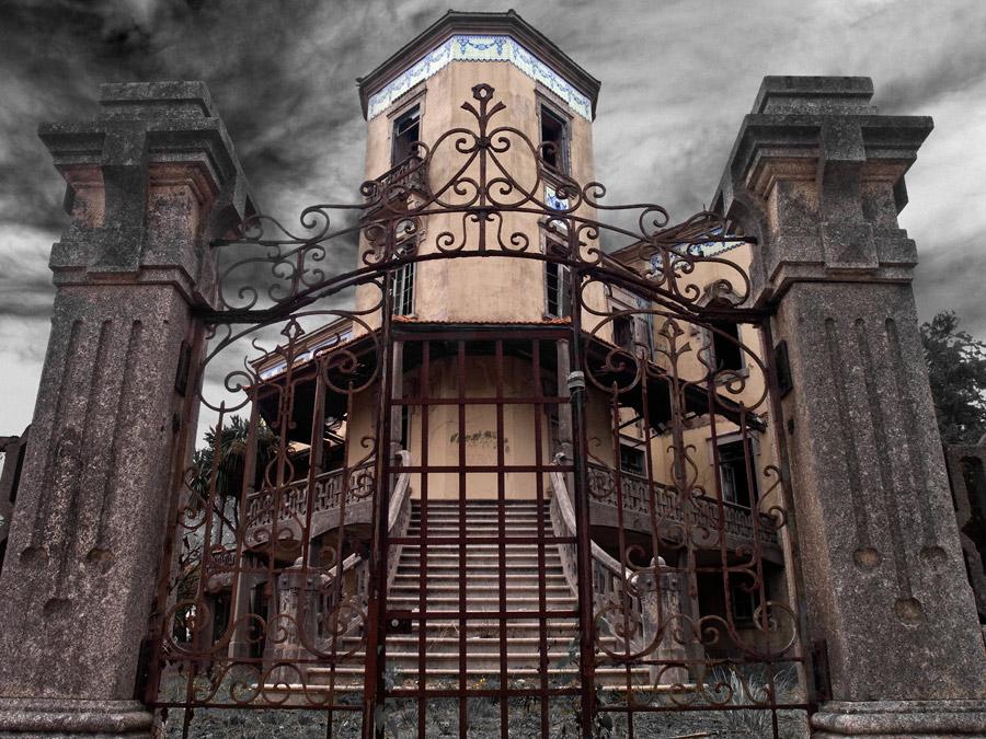Palacete Rosa Pena | Espinho | lugares mágicos abandonados