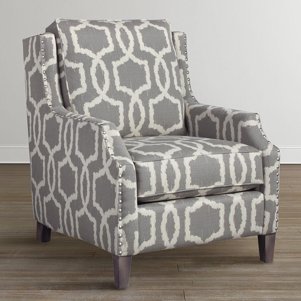 Attrayant Henson Accent Chair Woven Geometric Pattern