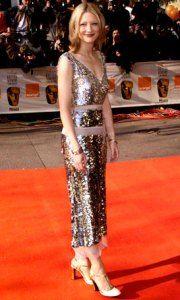 Cate Blanchett vestida de Prada en los Bafta 2000