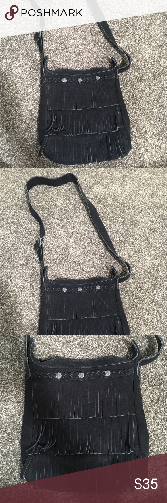 Minnetonka Fringe Purse Brand new Minnetonka fringe purse. Minnetonka Bags Crossbody Bags