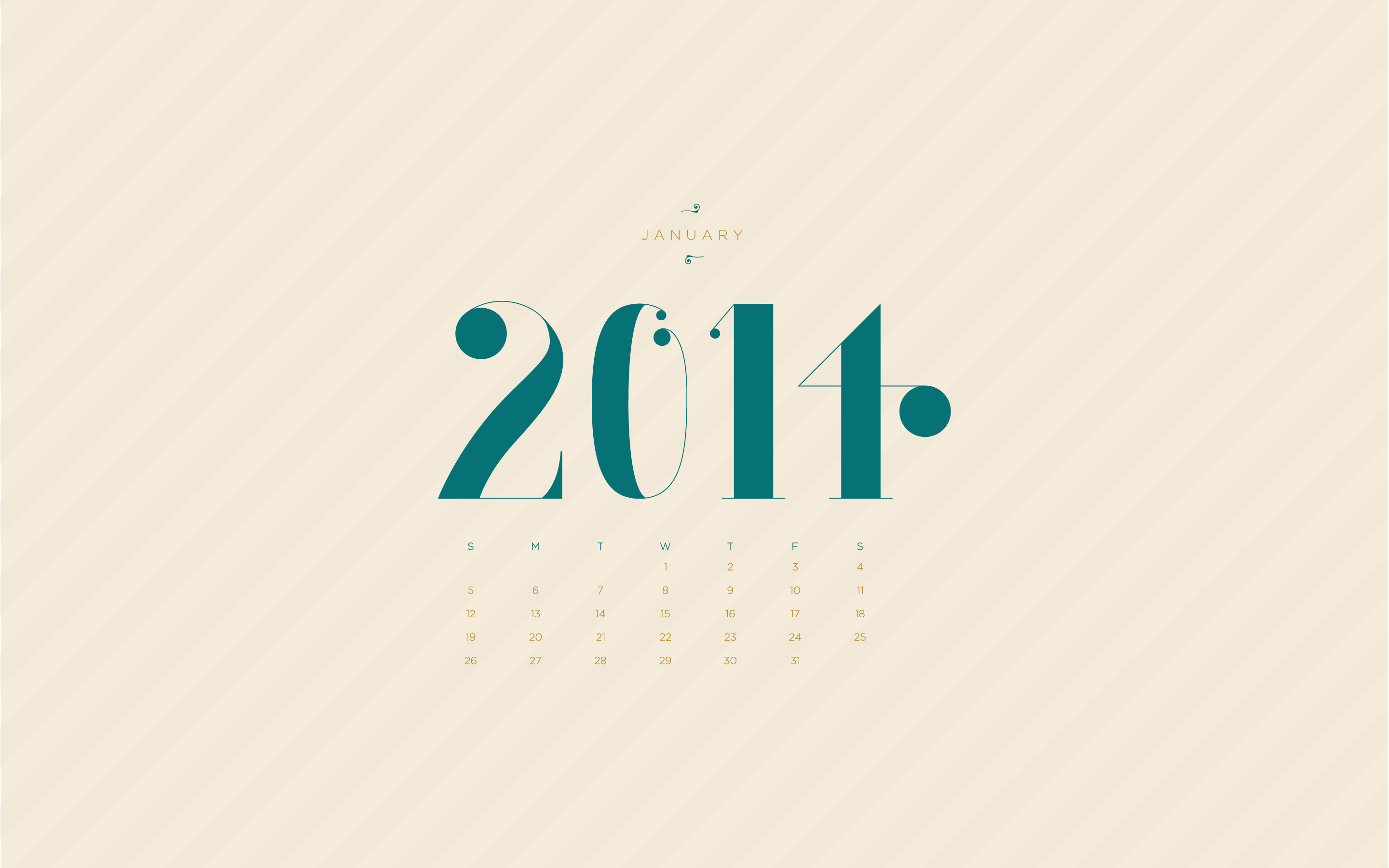 january 2014 desktop calendar wallpaper paper leaf design