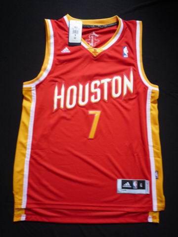 Adidas NBA Houston Rockets 7 Jeremy Lin New Revolution 30 Swingman  Throwback Red Jersey