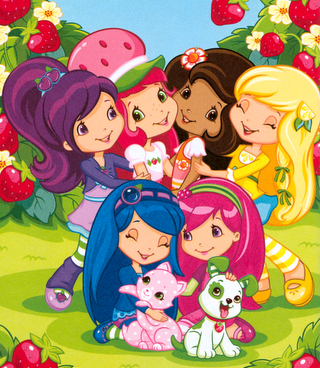 Current Characters Are All Girls With Long Hair Strawberry