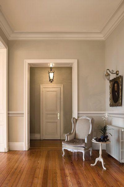quelle couleur pour vos plinthes et boiseries boiseries pinterest deco plinthes et boiseries. Black Bedroom Furniture Sets. Home Design Ideas