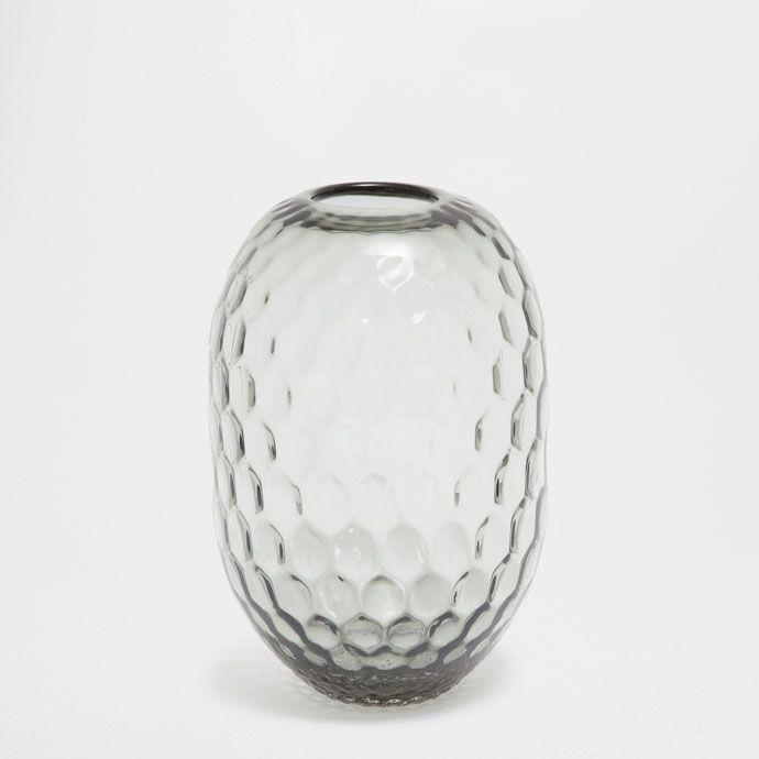 Glasvase Mit Relief Vasen Dekoration Zara Home Deutschland