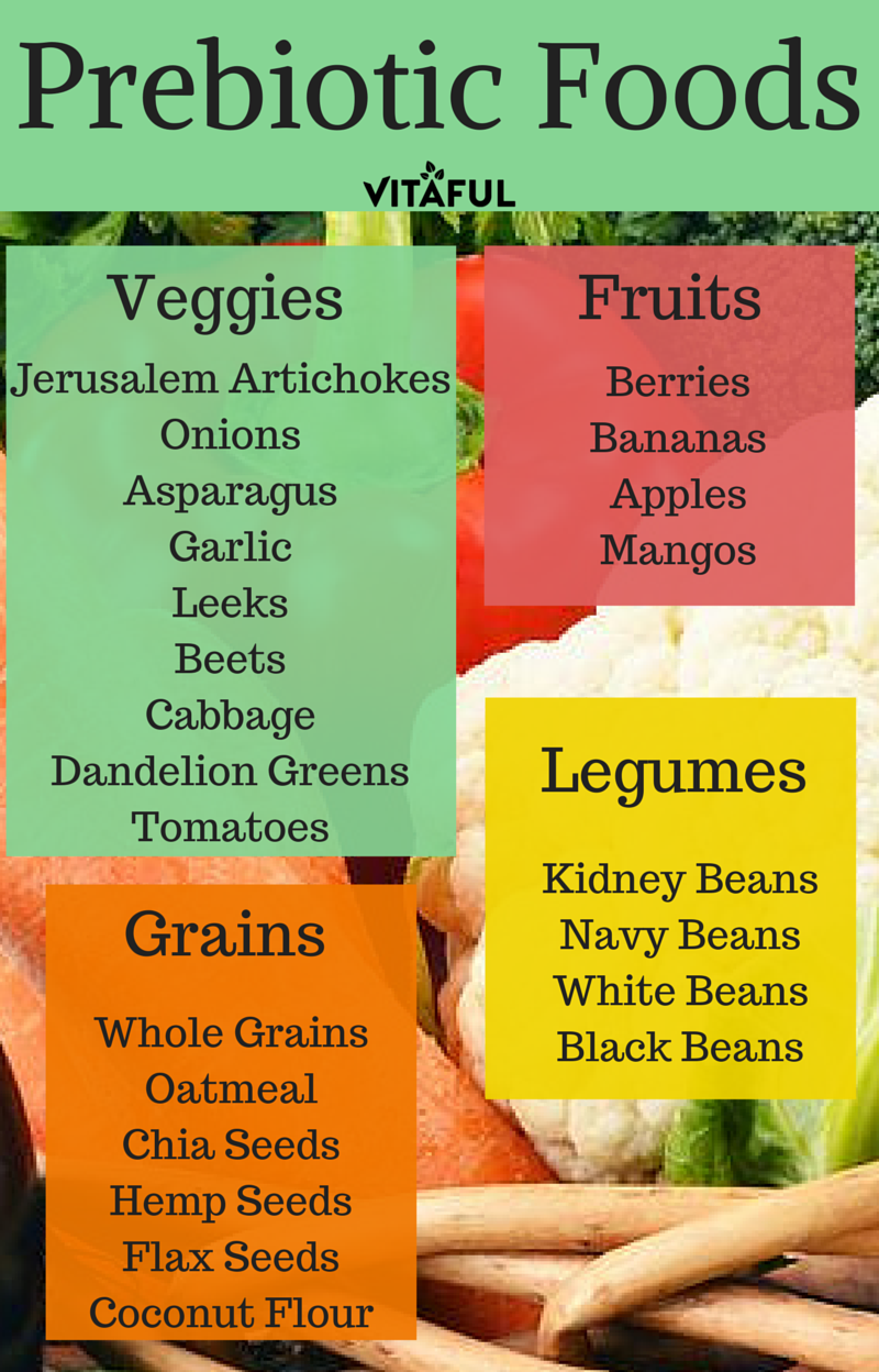 A List of Prebiotic Foods | Gut Health | Probiotics | | Probiotic ...