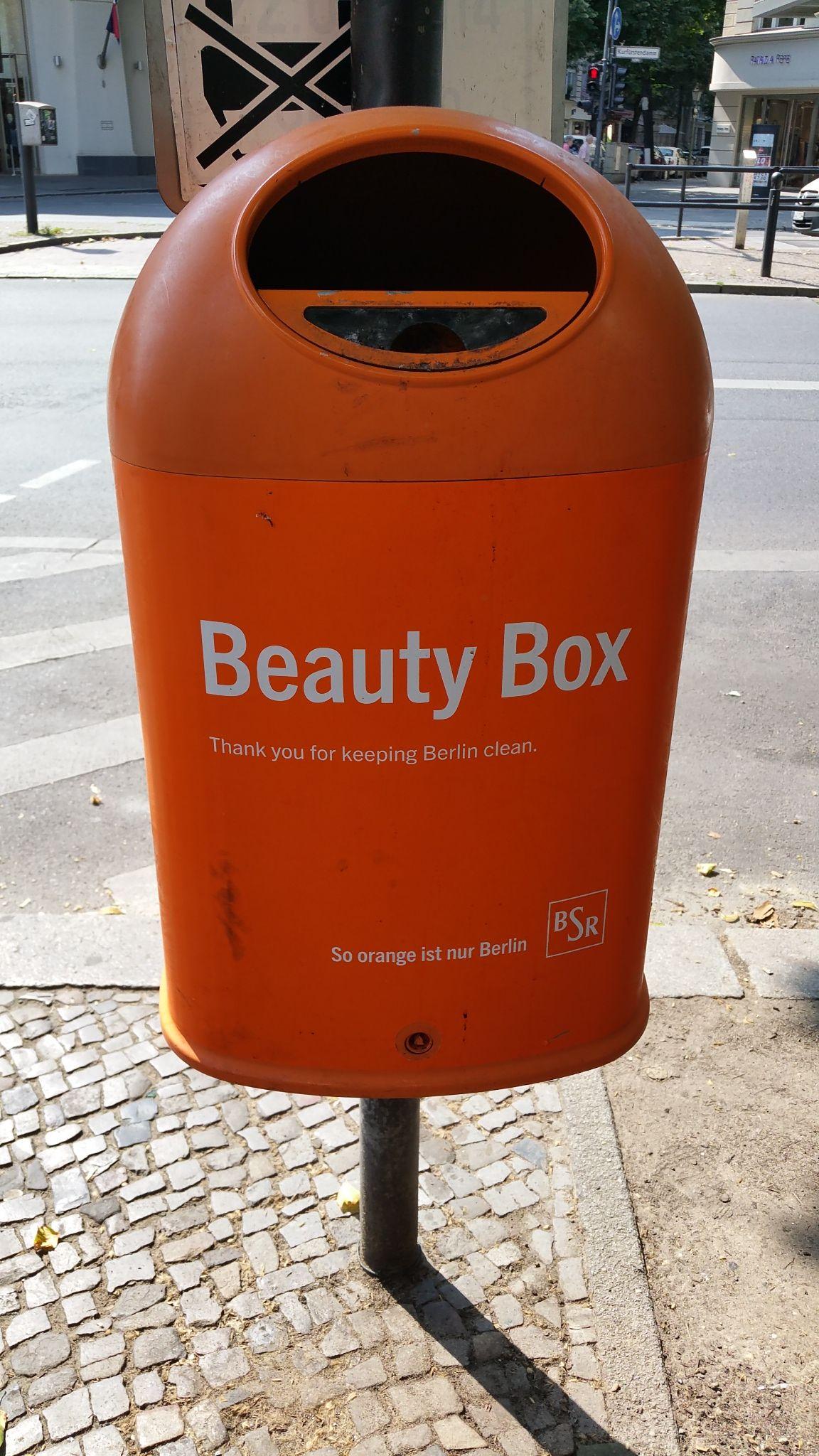 Beauty Box for your streetjewelry, Berlin, July 2015