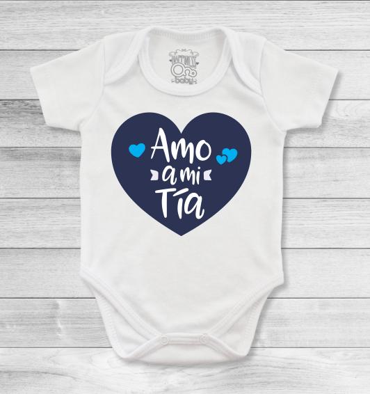 e5921c279d08 Bodys o mamelucos para bebé con mensajes espectaculares para las tías y  tíos más amorosos