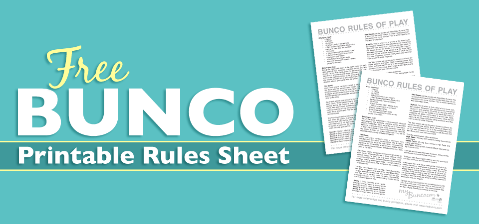 photograph relating to Bunco Rules Printable named Cost-free Printable Bunco Laws Sheet BUNCO Bunco recommendations