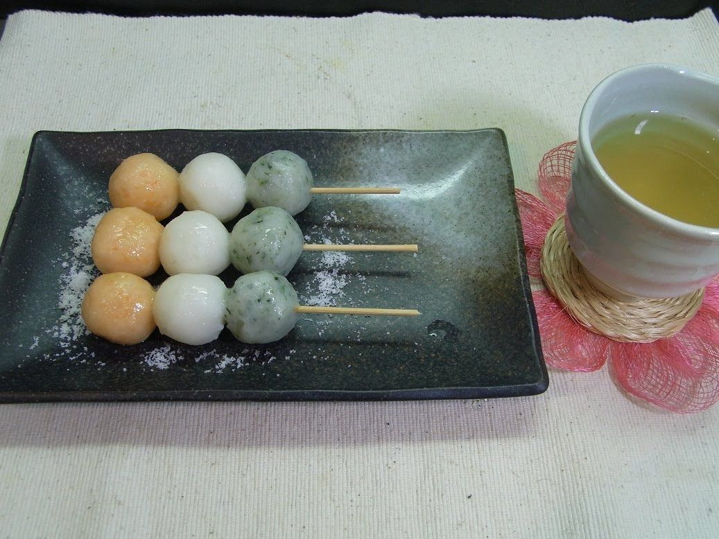 How to make Hanami Dango 花見団子の作り方 Receitas