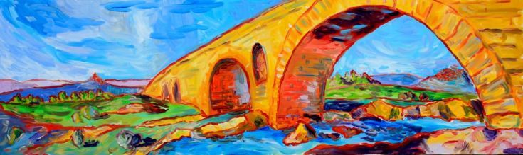 Buy Le Pont St Julien, Oil painting by Alison Stevenson on Artfinder. Discover thousands of other original paintings, prints, sculptures and photography from independent artists.