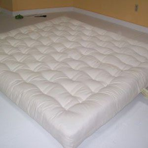 Medium image of boulder firm cotton and wool futon style mattress   twin by wl   589 00  the