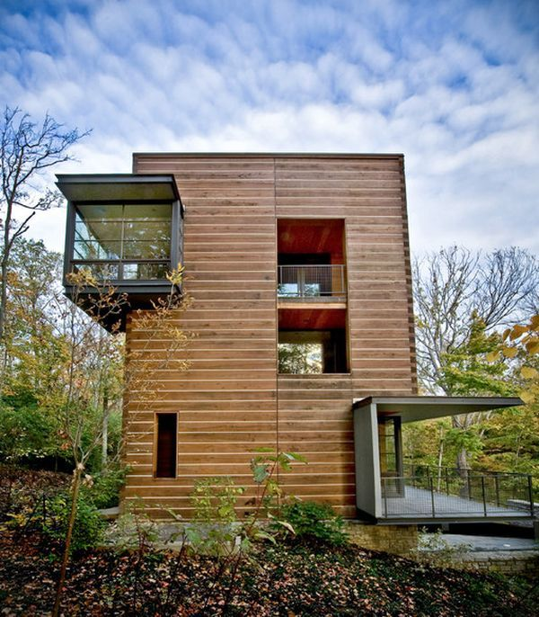 20 Modern And Contemporary Cube Shaped Houses Log Homes Modern