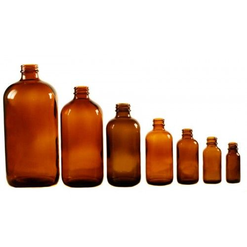 Boston Round Bottles Amber Bottle Bottles And Jars Glass Containers