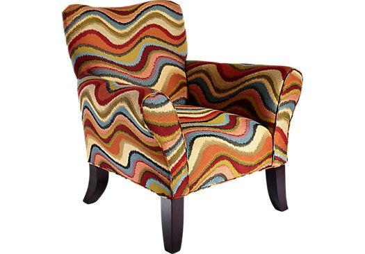 Best Retro Festival Orange Accent Chair With Images Orange 400 x 300