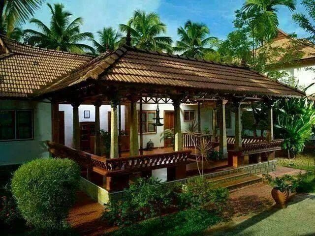 Traditional Kerala Home Village House Design Traditional Home