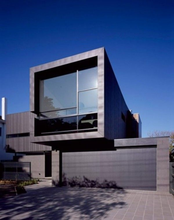 Small Minimalist House Plans Black House Pinterest Minimalist