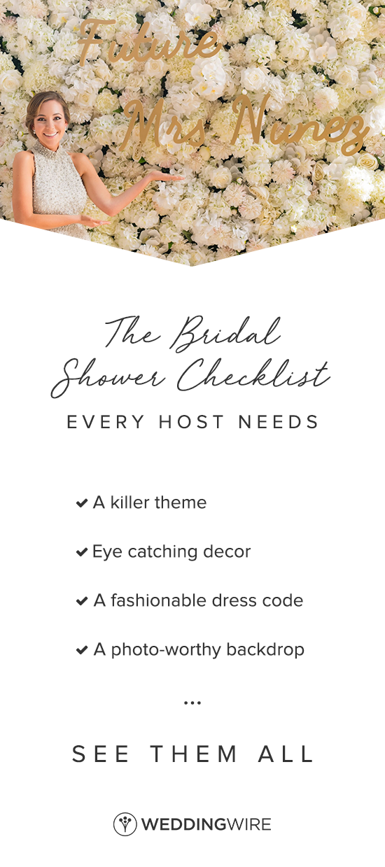 The Bridal Shower Checklist Every Chic Host Needs  Bridal Shower