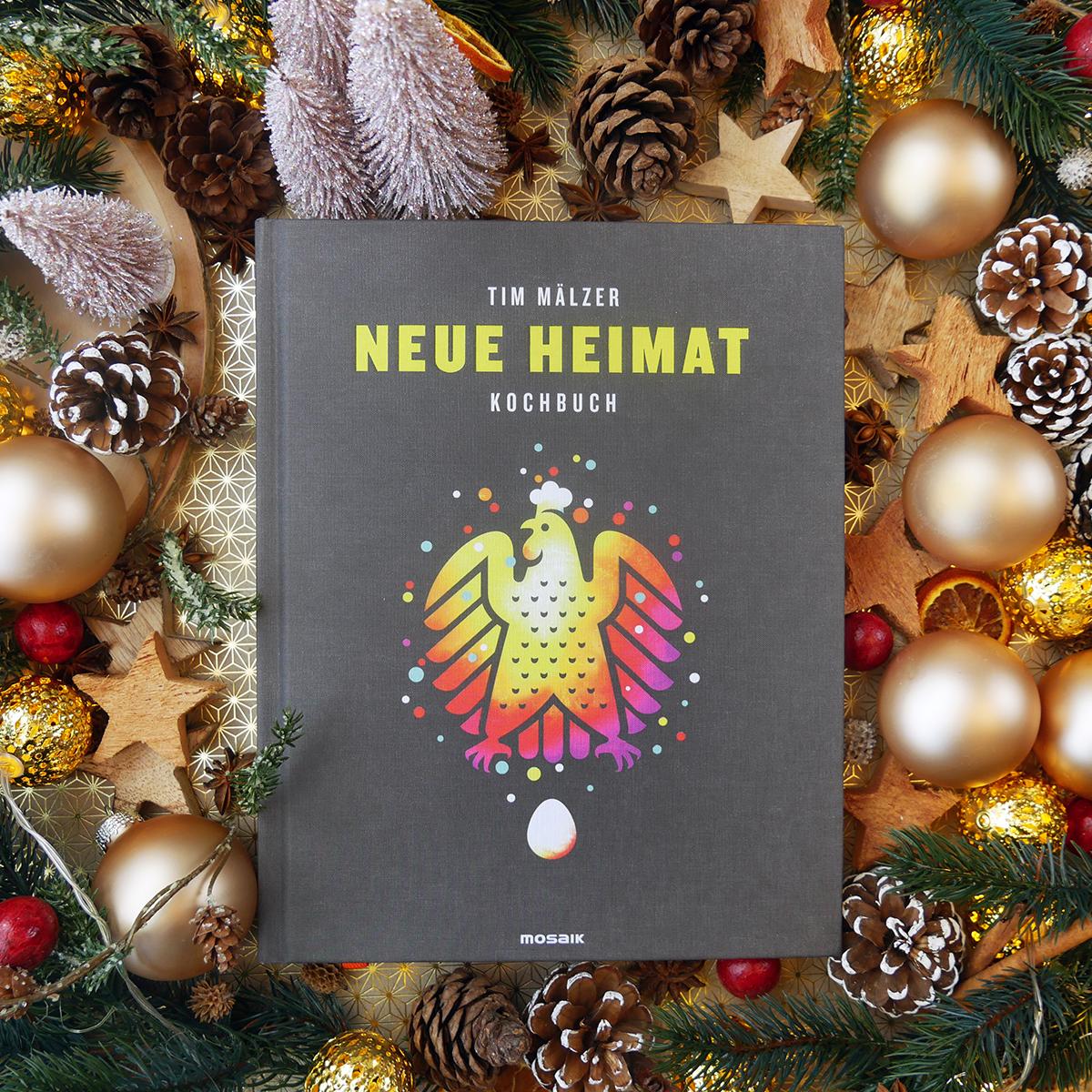Buchgeschenkefinder Adventskalender Tag 5 Kochen Wie Daheim Das Kochbuch Neue Heimat Von Tim Malzer Bi Buch Geschenke Weihnachtsbucher Weihnachtsbasteln