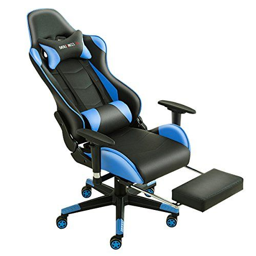 JL Comfurni Gaming Chair Chesterfield Ergonomic Swivel Home Office Nap Chair  Computer Desk Chair PU Leather Recliner Sport Racing Chair | Chesterfield,  ...