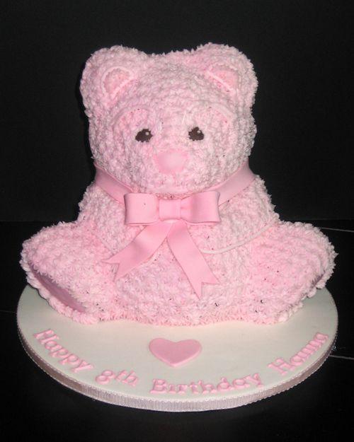 Teddy Bear Birthday Cake Pink Teddy Bear Birthday Cake Kk - Bear birthday cake