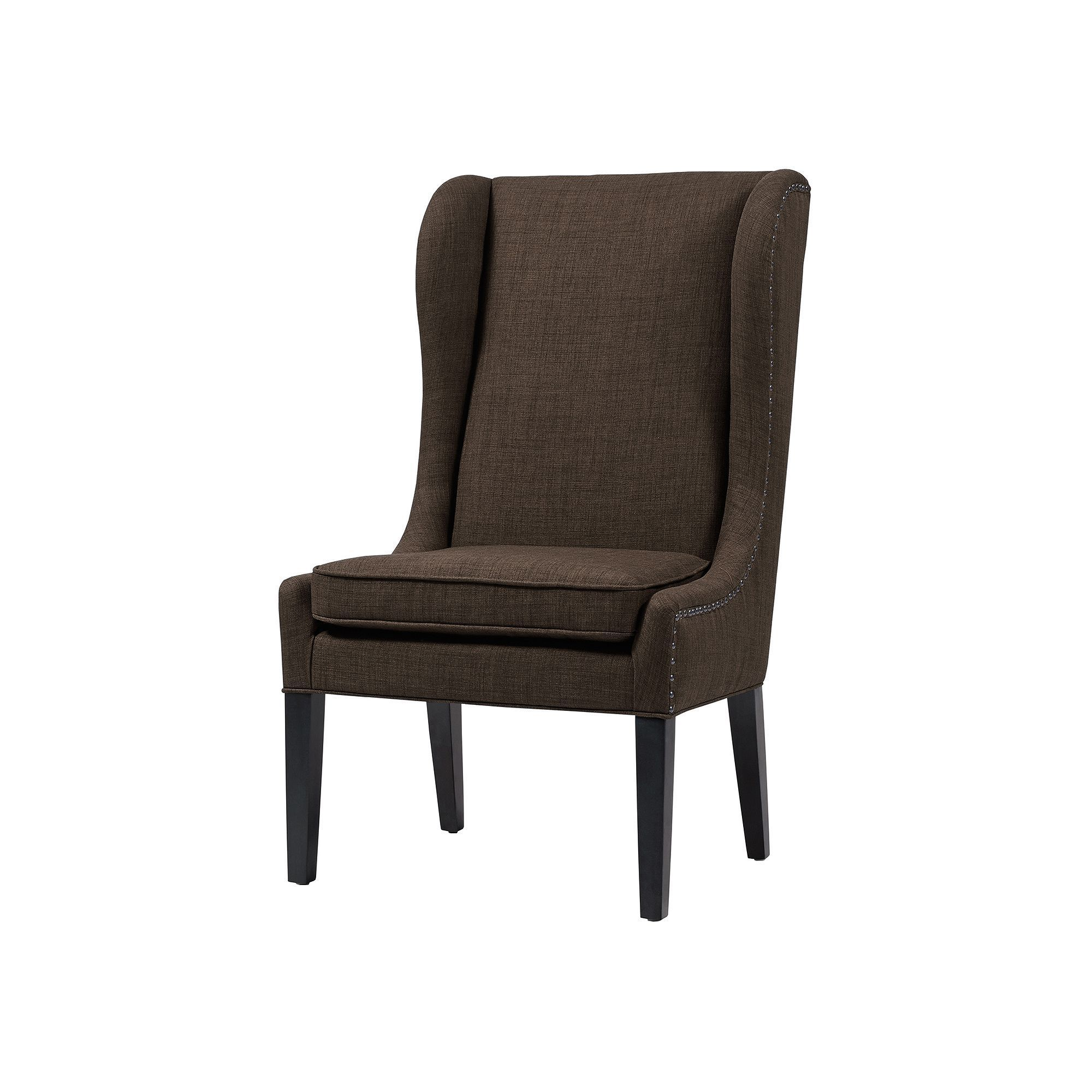 Madison Park Sydney Dining Chair, Grey (Charcoal
