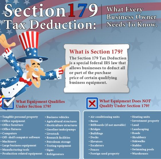 section 179 tax deduction | Tax deductions