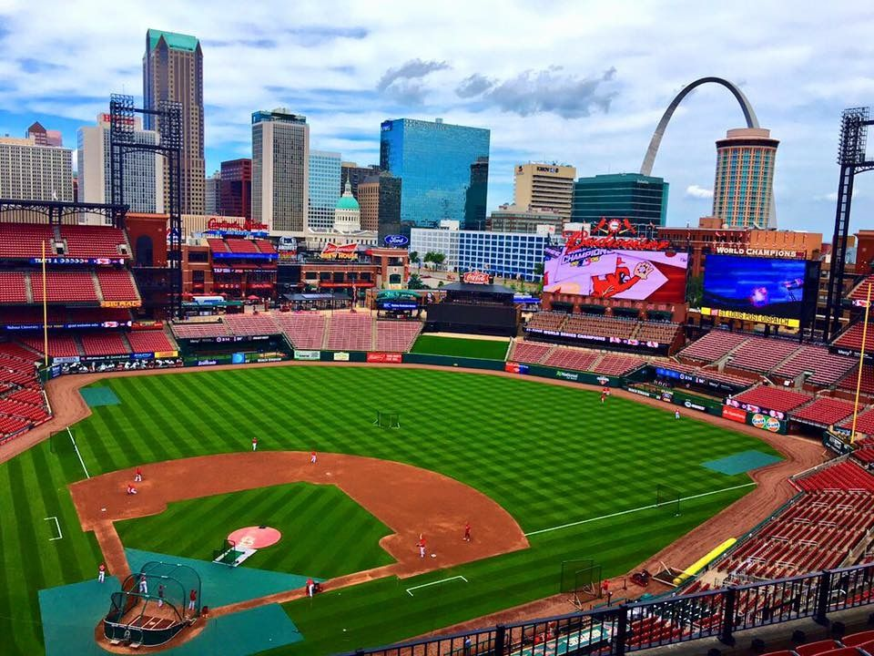 St Louis Cardinals Mlb Stadiums Baseball Stadium Cardinals