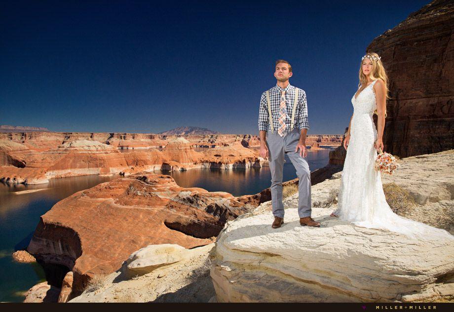 Our Lake Powell Utah Destination Wedding