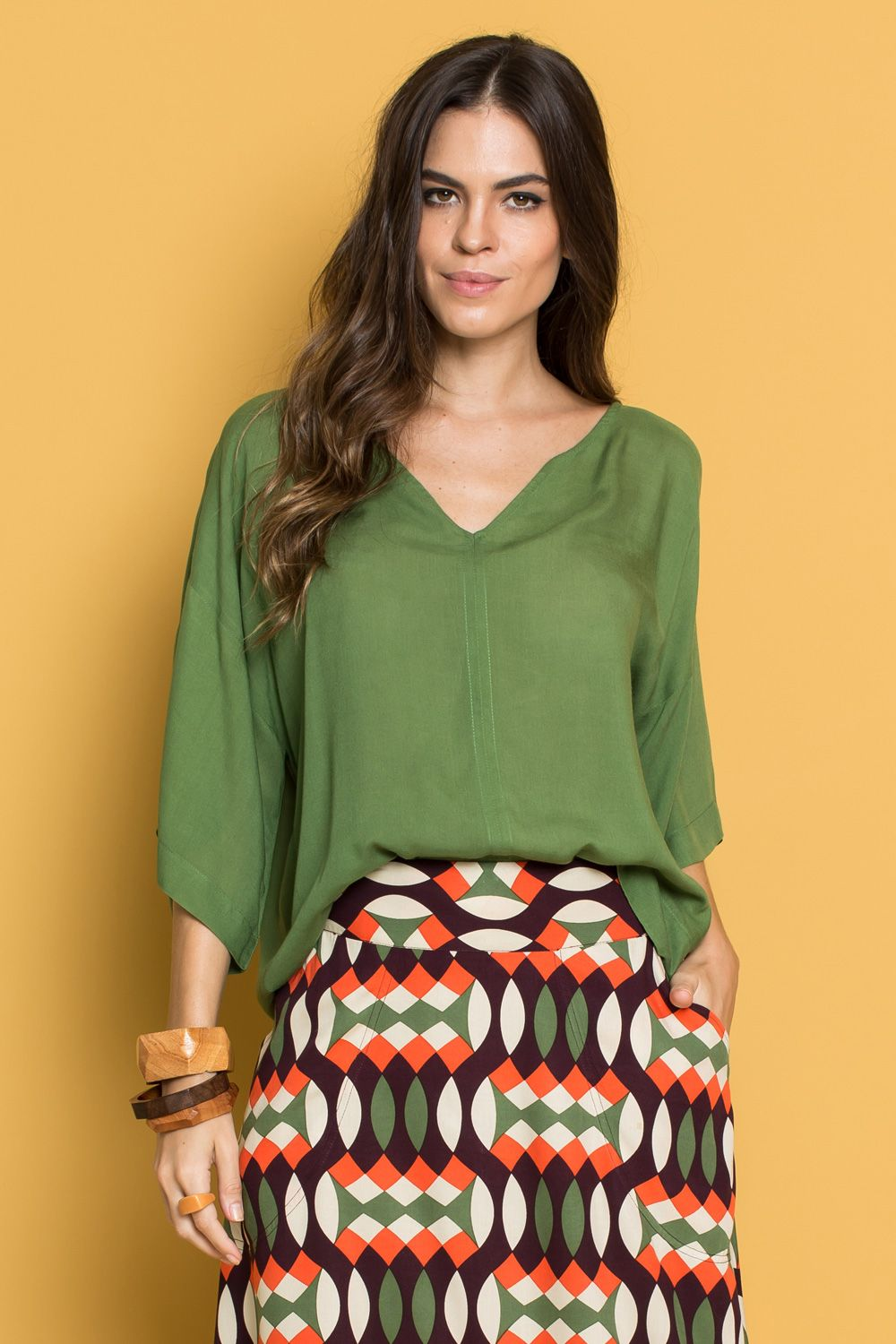ace48bd996 BLUSA FLOYD VERDE ESCURO - totemstore