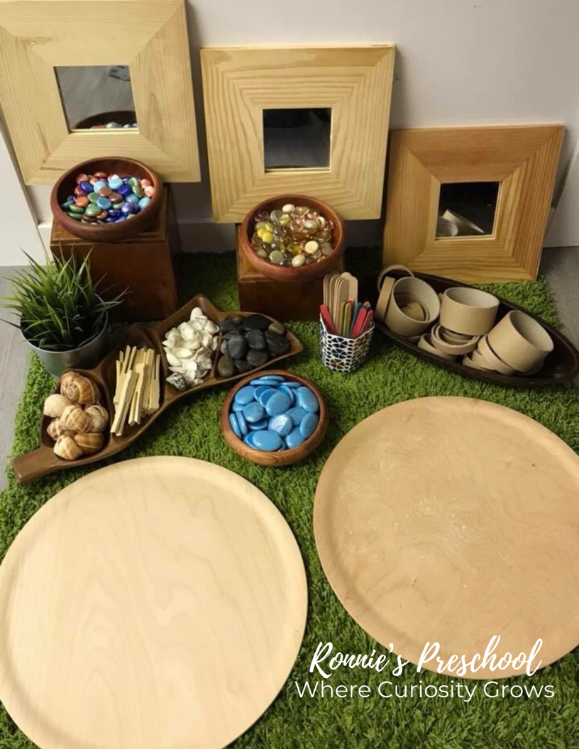 Loose Parts Play for Preschoolers
