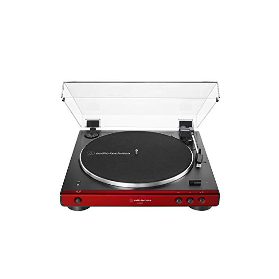 Amazon Com Audio Technica At Lp60xbt Bk Fully Automatic Bluetooth Belt Drive Stereo Turntable Black Hi Fidelity P Stereo Turntable Turntable Audio Technica