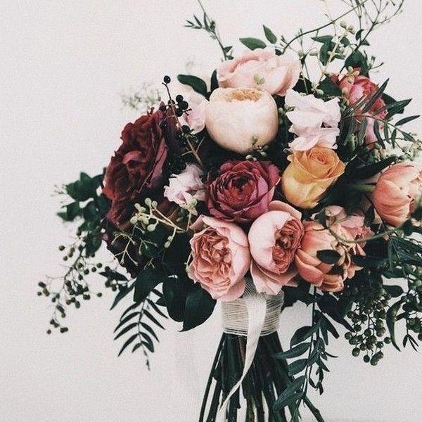 20 atemberaubende Herbsthochzeitsblumen und -blumensträuße für Bräute 2019  … - Modern