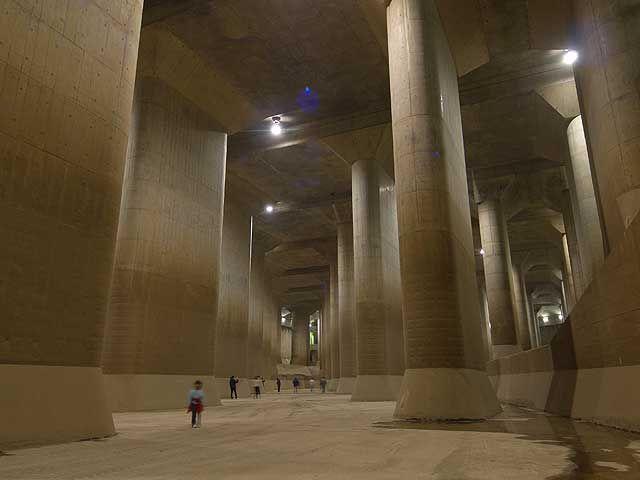 埼玉 春日部 首都圏外郭放水路 その他 あれこれ1 巨大建造物