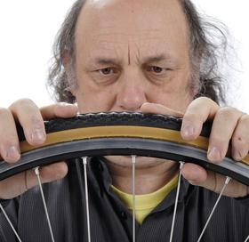 how to fix bike tube puncture