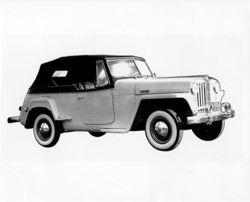 1948 Jeep Willys Jeepster Heritage Jeep, Jeep models