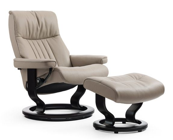 Stressless Crown Recliners Stressless Furniture Recliner With Ottoman Chair And Ottoman