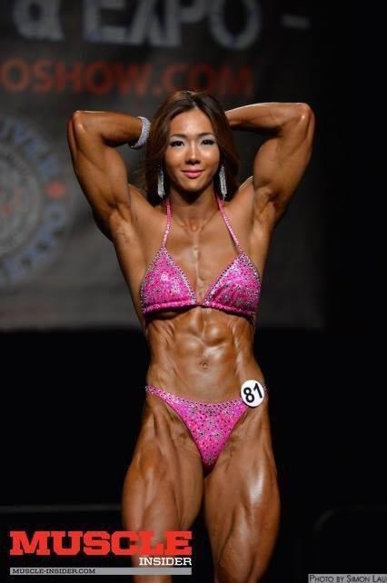 1e87638f Ms Yeon Woo Jhi Korea fabulous isn't she | MuscleMania | Athletic girls,  Bikinis, Swimwear