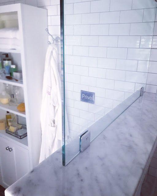 Roman Shower Glass Splash Guard Diy bathroom remodel