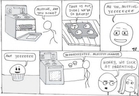 Muffins, er du f�rdig?