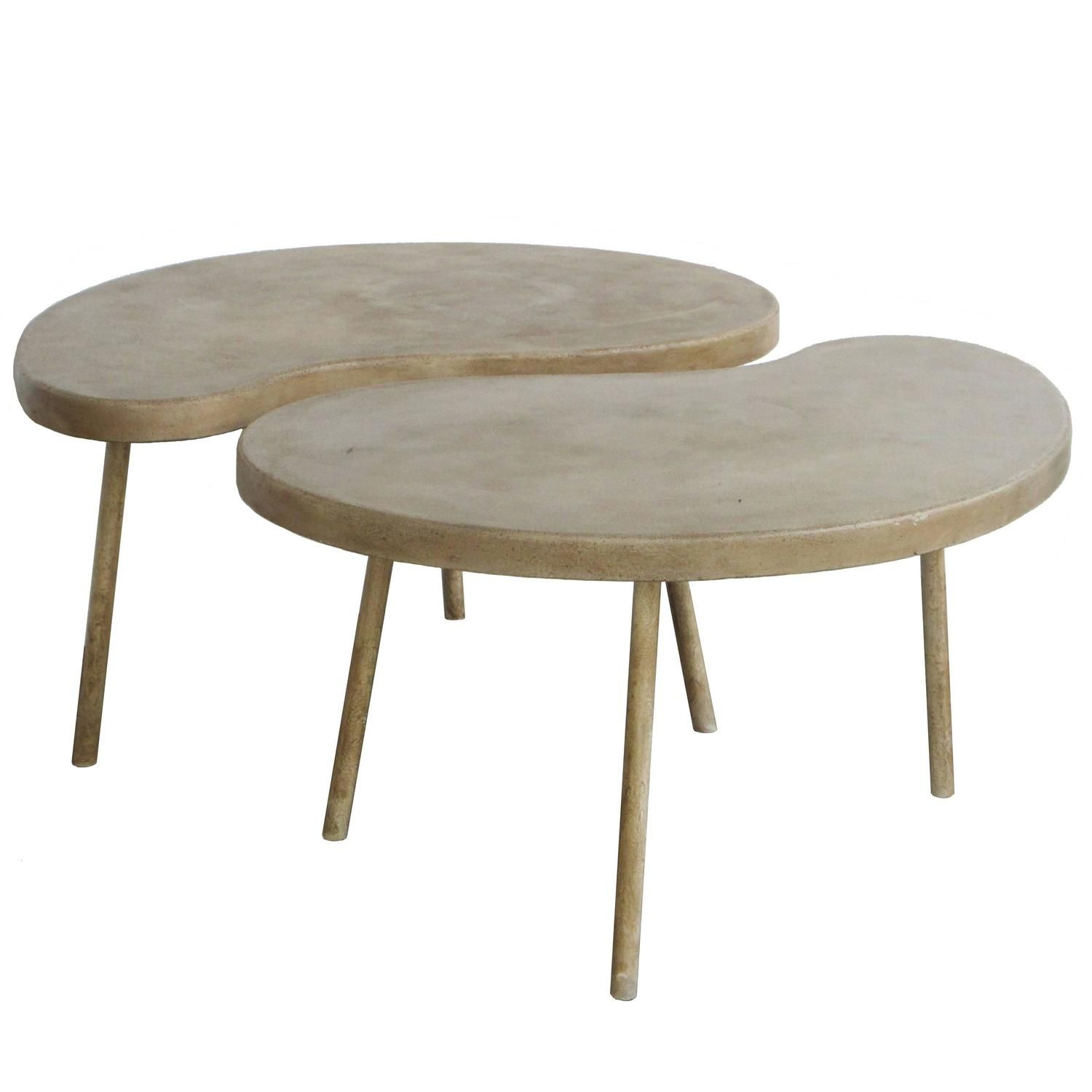 Modern Ying Yang Coffee Table Or Side Table Coffee Table
