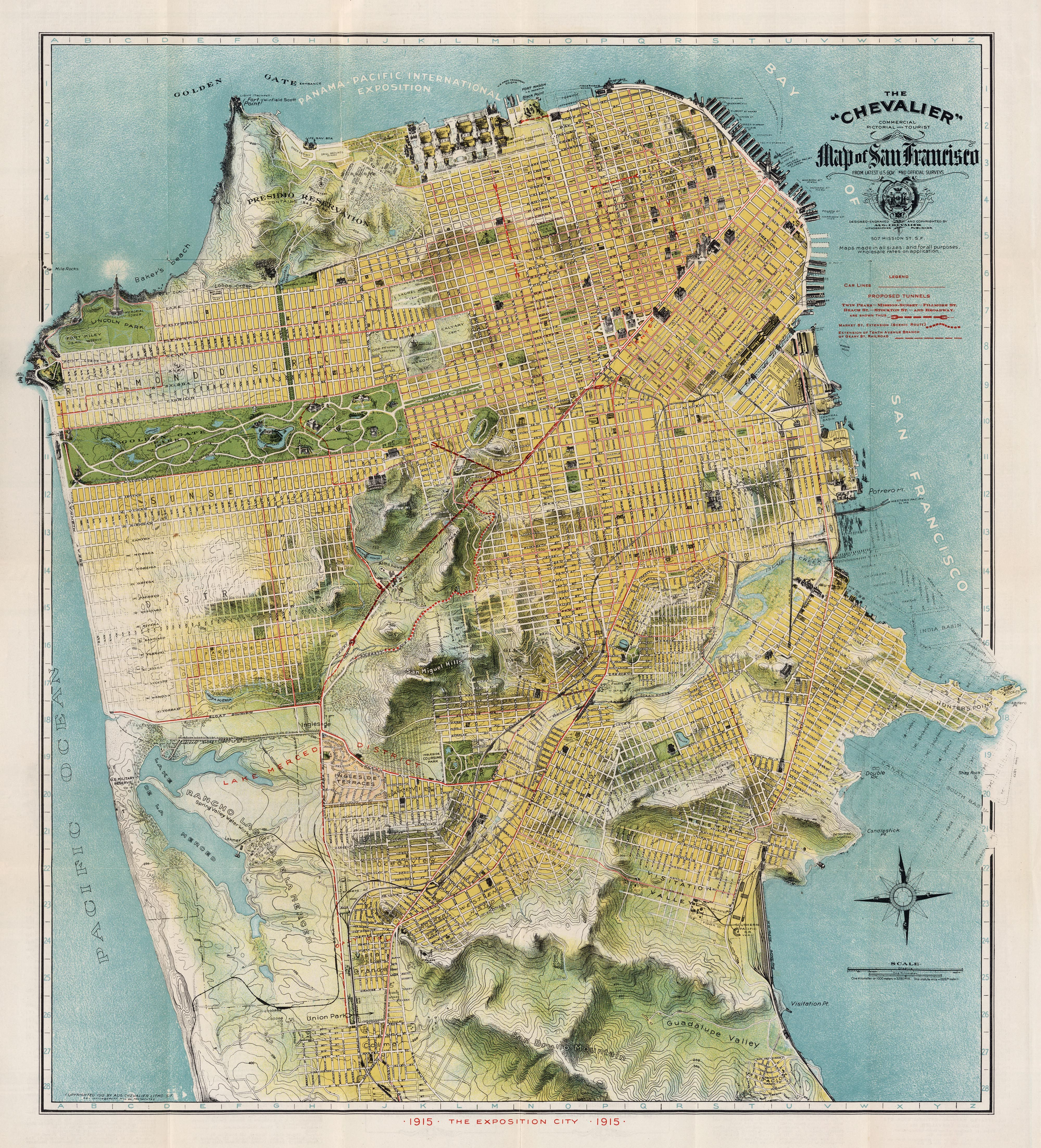 Vintage Infodesign 35 San francisco Cartography and City