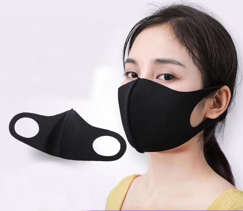 5pcs Washable Reusable 3d Mask With 3d Cutout 3d Mesh Filter